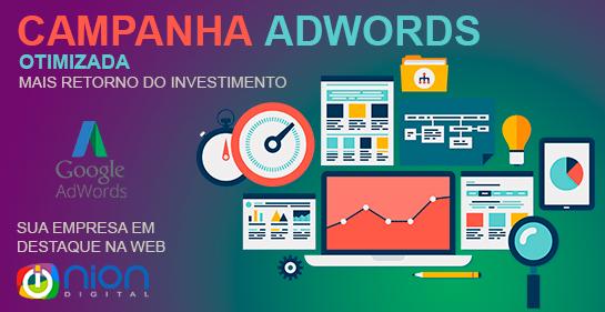 Campanha Adwords Otimizada - Nion digital