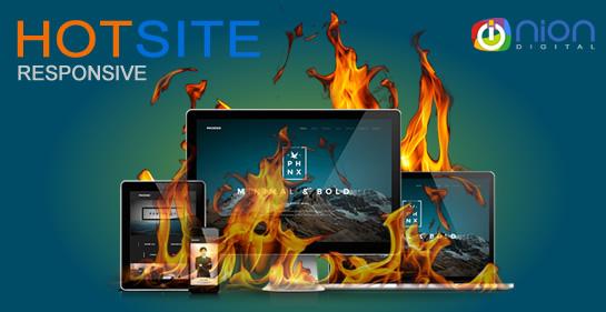Hot Site Otimizado e Responsivo