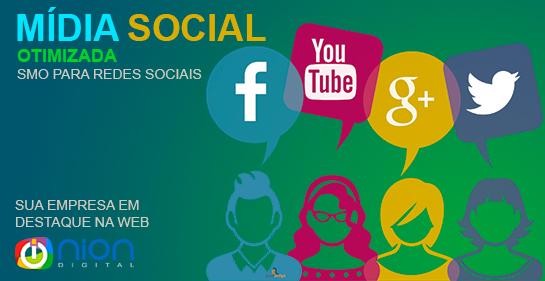 Mídia Social Otimizada - Nion digital